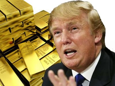 Donald Trump Takes Gold as Payment for Commercial Lease