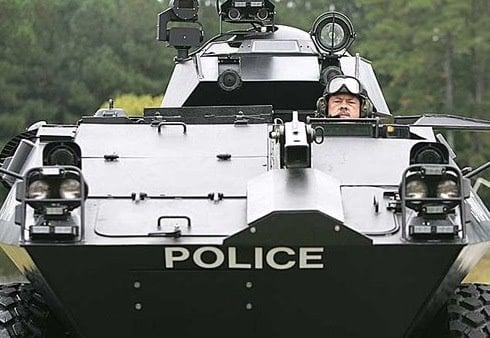 The Streets of America in the Very Near Future… policetank2