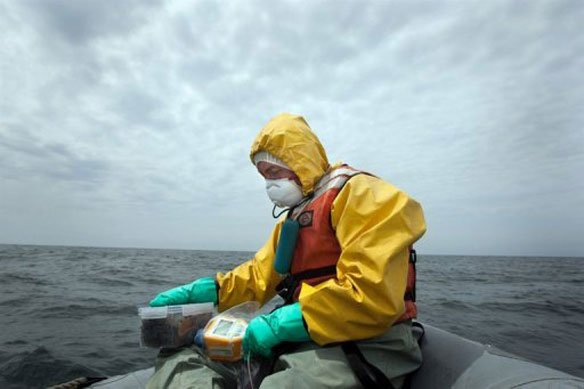 Testing Ocean Waters for Radiation