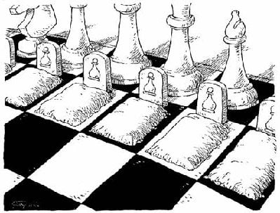 "The Human Cost: ""Your Life And The Lives of Those You Love Are Just Pawns On Their Chessboard"" chessboard 2"