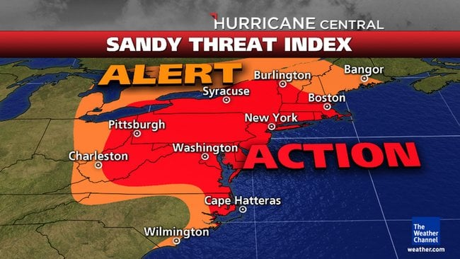 Panic Buying Grips the East Coast: Mad Rush for Supplies Ahead of Mega Storm sandy threatindex