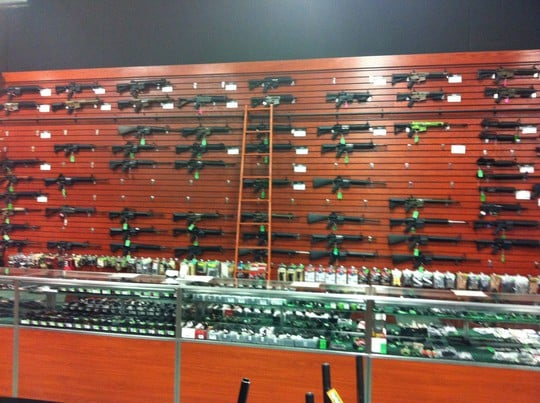 "Gun Frenzy: Photos Show How Quickly Stores Across the Nation Are Selling Out: ""Lines Out the Door"" frenzy2"