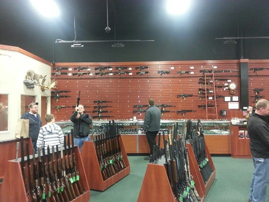 "Gun Frenzy: Photos Show How Quickly Stores Across the Nation Are Selling Out: ""Lines Out the Door"" frenzy3"