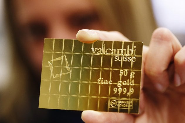 "Swiss Firm Introduces Divisible Gold Card For ""A Scary New World"" valcambi1"