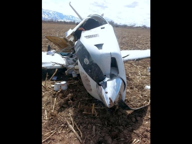No Time to Panic: Strategic Survival Expert Joel Skousen Survives Plane Crash skousen plane 2
