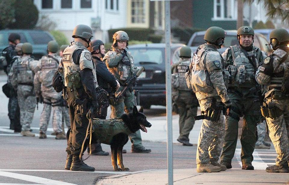 BATTLEFIELD USA: De Facto State of Martial Law Declared In Boston *Pics From the War Zone* Boston martial law14