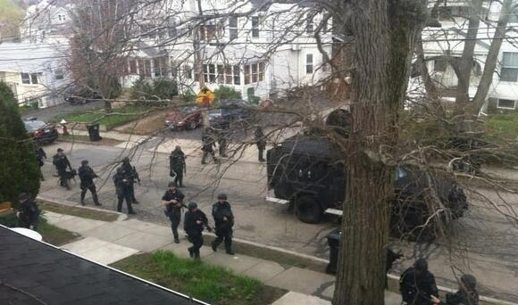BATTLEFIELD USA: De Facto State of Martial Law Declared In Boston *Pics From the War Zone* Boston martial law3