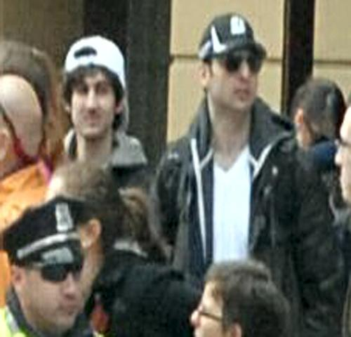 CONFIRMED: BOSTON BOMBER DEAD; Second Suspect Still At Large — RAW VIDEO: More Bombs Rock Mass.; Gunfight at MIT boston suspects photo2
