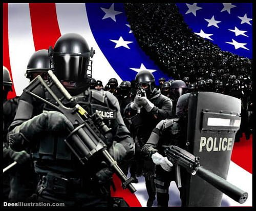 The American Police State