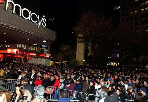 Macy's 2013 Black Friday