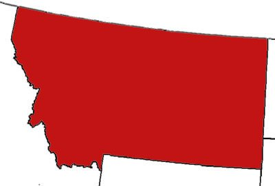 Montana Releases Map Of Registered Gun Owners Satire Truth Is - Montana state map