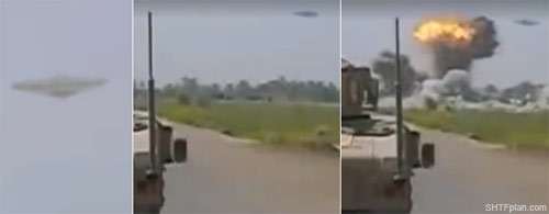 "Shock footage marine captures ufo destroying taliban base ""unlike"