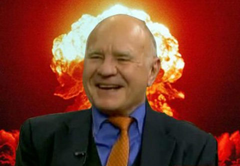 "Dr. Doom Explains How To 'Short' Central Banks When Public Confidence Collapses: ""It's The Only Way"""