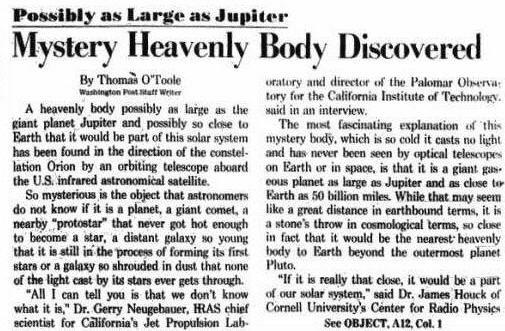 planet-x --- 1983
