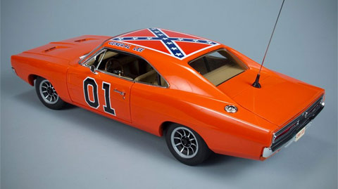 iconic dukes of hazzard car 39 general lee 39 stripped of confederate flag this is a new level of. Black Bedroom Furniture Sets. Home Design Ideas