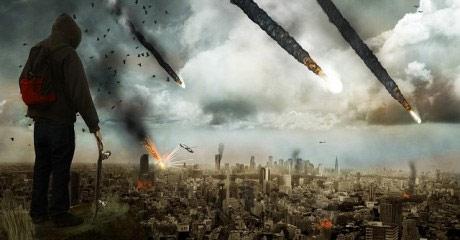 Image result for meteor strike concept art