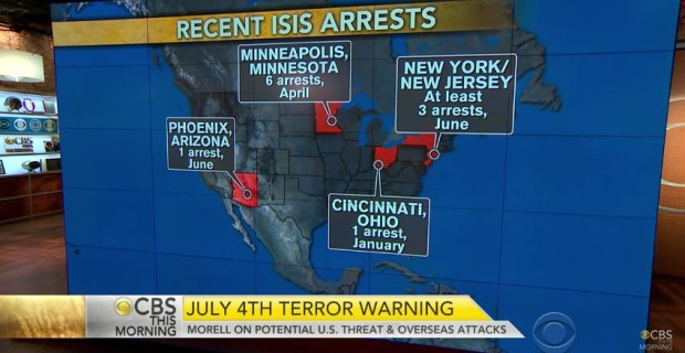 Report: FBI Agents Telling Friends & Family To 'Avoid July 4 Celebrations'