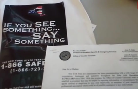 """Video Proof: Feds Post Letters Identifying Preppers As Potential Terrorists: """"Individuals or groups making bulk purchases…"""""""