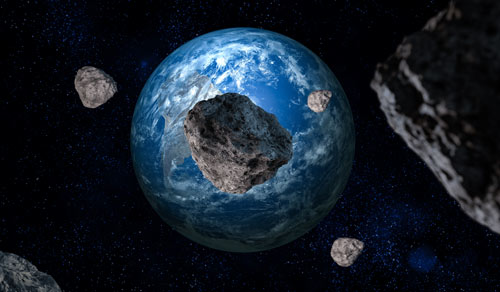 Incoming Asteroid Pass...