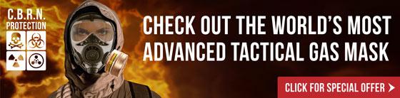 Advanced Tactical Gas Mask