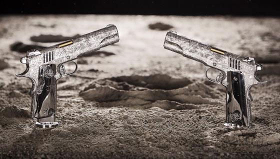 gun made of meteorite
