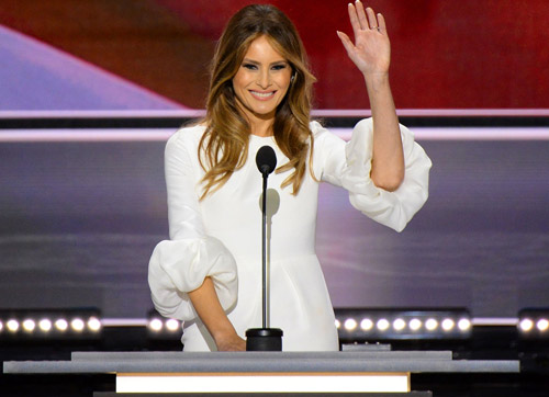 "Ridiculous: Liberal Writer Implies Melania Trump's White Dress Is Racist: ""White Is Always Right"""