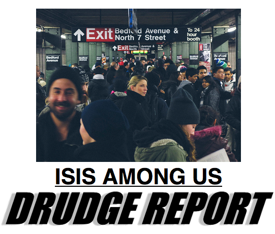 drudge report ISIS among us