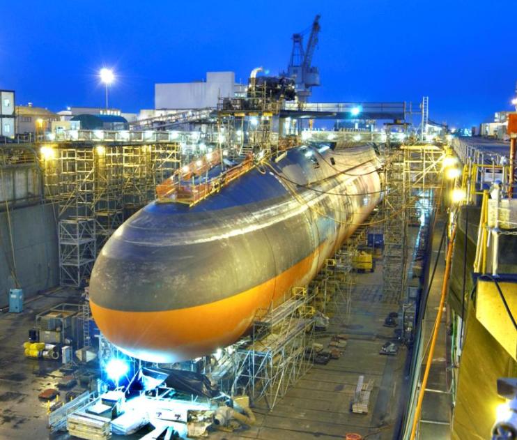 SSBN Ohio-class submarine