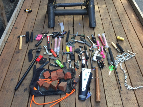 portland-weapons-confiscated
