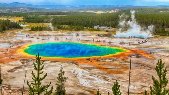 The Public Fears An Eruption At Yellowstone Spate Of