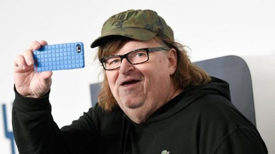 Liberal Hypocrite Michael Moore Participated In RUSSIA-ORGANIZED Anti-Trump Rally