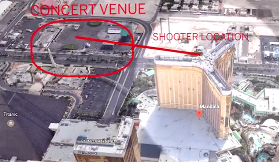 Watch  Aerial Footage And Diagrams Of Where The Las Vegas
