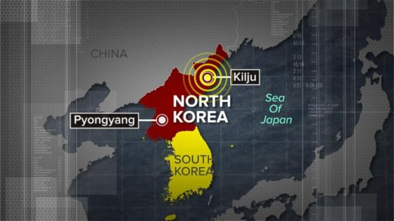 Earthquake In Range Of North Korean Nuclear Test Site