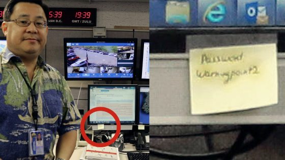 Hawaii Emergency Broadcast System now broadcasting their passwords