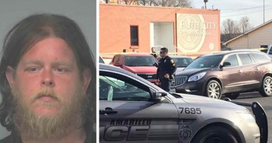 Hero Citizen Stops Mass Shooting in a Church, Cops Show Up and Shoot HIM – Media Silent