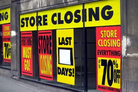 The Death Of Retail Real Estate Continues: 77MM Sq.Ft Of Shopping Space Closed In 2018 Already