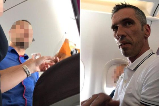 Watch: Muslim Passenger Erupts in Profane Tirade at Flight Attendant Over Turkey Sandwich