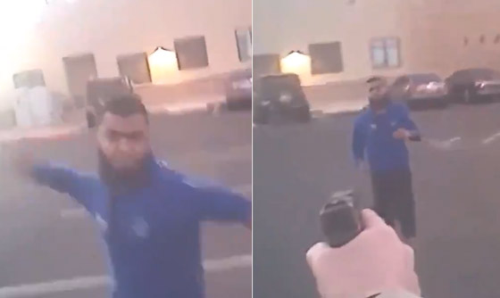 Body Cam Video They Don't Want You To See: Arizona Cop Takes Down Knife-Wielding Jihadist *Sensitive Images*